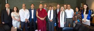 The Steering Committee of the UBC Himalaya Program with H.H. the 17th Gyalwang Karmapa in June, 2017 at the UBC Chan Centre for Performing Arts.