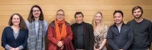 Members from the UBC Himalaya Program with Khenpo Choying Dorjee