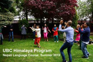 See how students experienced the 2019 summer intensive Nepali language course!